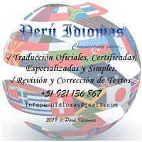 TRADUCCIONES OFICIALES, CERTIFICADAS, ESPECIALIZADAS Y SIMPLES