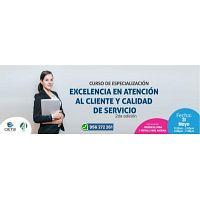 CURSO DE ESPECIALIZACIÓN EXCELENCIA EN ATENCIÓN AL CLIENTE Y CALIDAD DE SERVICIO 2019 2DA EDICIÓN