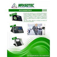 LECTOR BIOMETRICO CONTROL DE PERSONAL MODELOS TK-100 Y H8/MAXSOTEC/CONTACTENOS