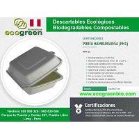Envases desechables Lima Perú biodegradables ecológicos ECOGREENBIO Envases desechables Lima