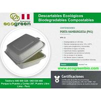 Envases descartables desechables biodegradables Lima Perú ecológicos desechables