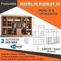 Curso Diseño y Modelado de Muebles de Melamina en 3D