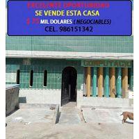 OCASIÓN SE VENDE CASA EN VILLA EL SALVADOR