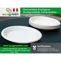 Descartables biodegradables ECOGREENBIO Pueblo libre Lima Perú delivery de alimentos envases Lima Pe