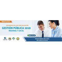 DIPLOMADO GRATUITO DE ALTA ESPECIALIZACIÓN EN GESTIÓN PÚBLICA 2019 (NUEVO)