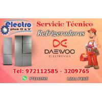 servicio programado, servicio tecnico de refrigeradoras daewoo, 972112585.