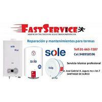 Servicio técnico de terma SOLE termotanques reparación 6637287