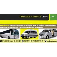 transporte privado a eventos en Lima