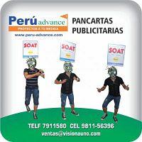 PANCARTA  publicitarias WHASTAPP: 9811-56396