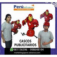 CASCOS PUBLICITARIOS wHATSAPP: cel: 9811-56396