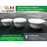 BIODEGRADABLES ECOGREENBIO LIMA PERU ENVASES DESCARTABLES en Pueblo Libre para delivery de alimentos