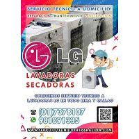 A domicilio --> Profesionales de LAVADORAS  LG en San Isidro  7378107