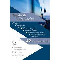 TARJETA DE CIRCULACION