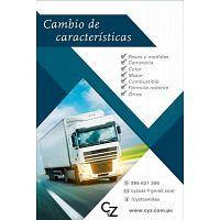 CAMBIO DE CARACTERISTICAS