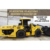 mini loader 1 yarda scoop