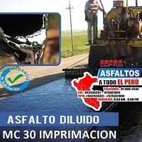 SERVICIO PROFESIONAL DE IMPRIMACION ASFALTICA LLAMA YA