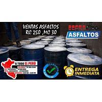 GRAN OPORTUNIDAD DE VENTA DE ASFALTO MC 30 CONSULTE CEL: 942429351