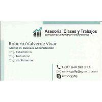 Asesorías de Tesis, Clases y Trabajos Estadística