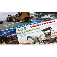 Servicio Fresado de Asfalto Obras Viales Lima y Provincias