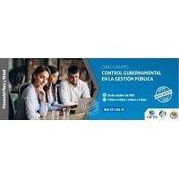 CURSO ESPECIALIZADO CONTROL GUBERNAMENTAL EN LA GESTIÓN PÚBLICA 2019 *GRATUITO* (NUEVO)