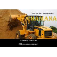 eliminación de desmonte, agregados de construccion, alquiler de maquinaria