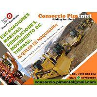 Alquiler Excavadora s/Ruedas Oruga Tractor D7 y D8 Perú 2020
