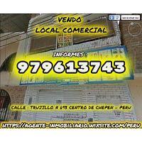 VENDO LOCAL COMERCIAL CENTRO DE CHEPEN PERU