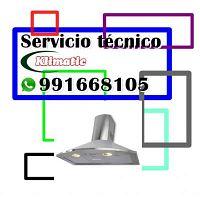 991668105 SERVICIO TECNICO PARA CAMPANAS EXTRACTORAS KLIMATIC