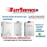 Servicio técnico reparación de termas a gas eléctricas ACUMAXX