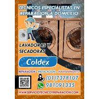 A Domicilio>Técnicos de LAVADORAS COLDEX |017378107| Miraflores