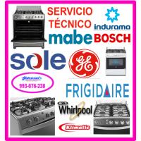Reparaciones de cocinas a gas Electrolux